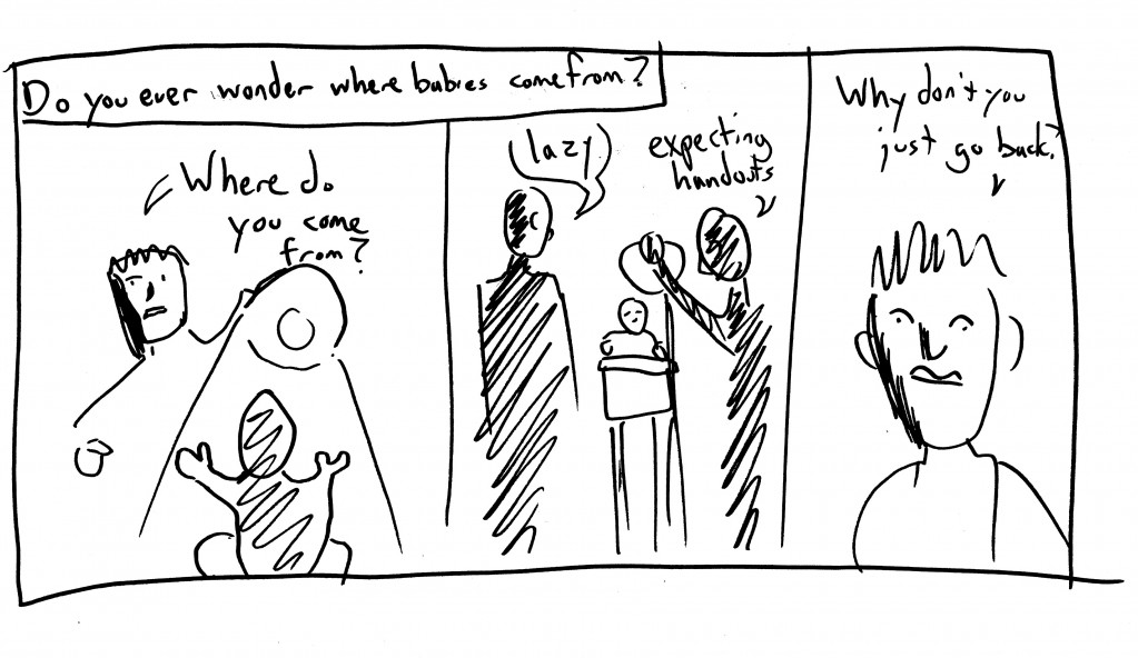 Babies; a 5-minute comic
